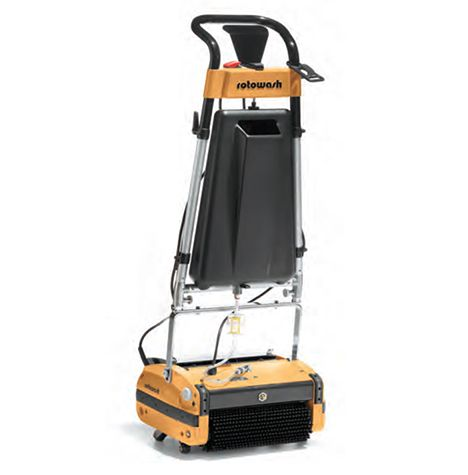 Floor Scrubbers From Rotowash For Industrial And