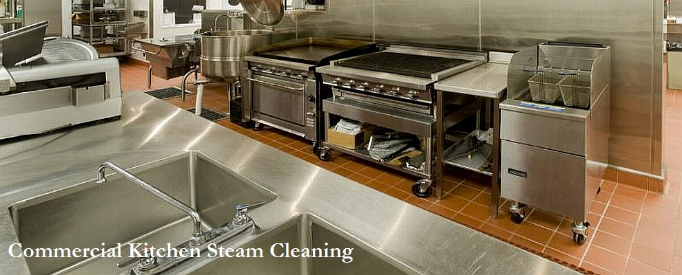 Commercial Kitchen Steam Cleaning