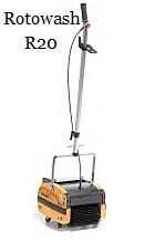 R20 floor scrubber