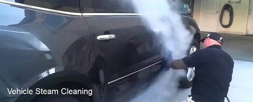 vehicle steam cleaning